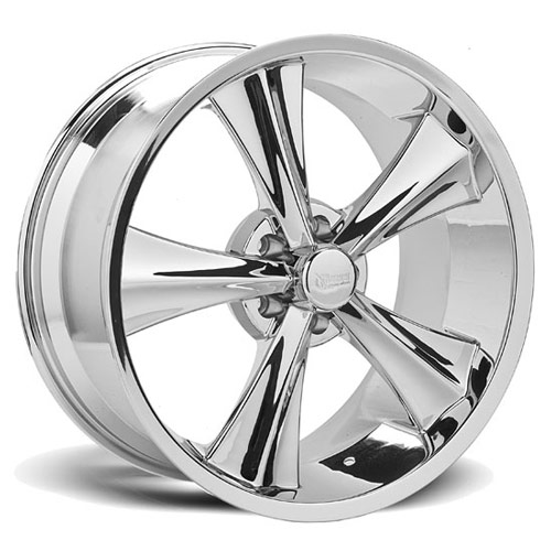 Rocket Wheels - Modern Muscle Booster - Chrome