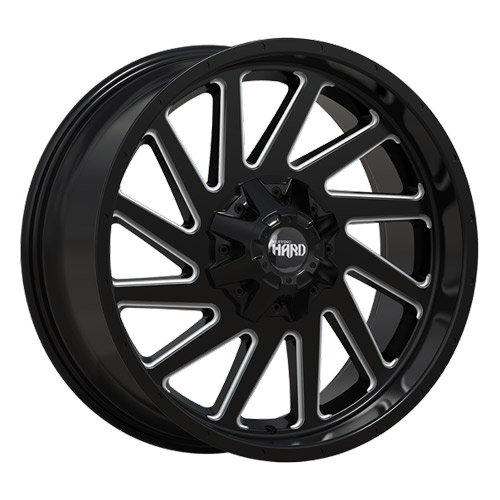 Ruffino Wheels - Smasher - Machine Black